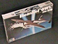 Revell Heinkel Owl He 219 1:72 Scale Military Model Plane Kit H-160 NEW IN BOX