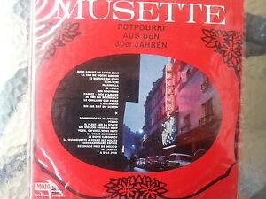 """12"""" - Jacky Noguez - Musette - Potpourri aus den 30er Jahren  ---"""