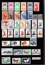 Madagascar et Dependances 1931-1968  Lot C7