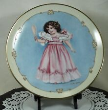 "Little Ladies~Maud Humphrey Bogart ""First Party"" 1991 Hamilton Plate~Victorian"