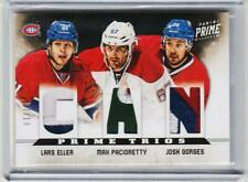 VERY RARE MONTREAL CANADIENS TRIPLE PATCH ONLY /10 MADE PACIORETTY ELLER GORGES