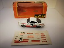 SOLIDO 1/43 Gam 2 Alpine A110 Rallye 1600 n°181 Monte Carlo 1970