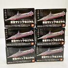 TOHO Machine Chronicle Godzilla Ver. 1  complete all 6 set !! Bandai Japan LTD