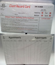 Tanning Client Record Card Australian Gold Pack of 100
