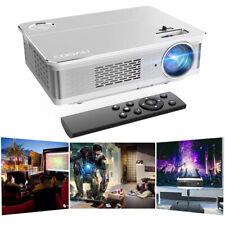 COOAU Projektor Beamer 4K LED Heimkino HDMI Cable 6800LM Full HD Multimedia DE