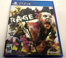 2019 Bethesda Rage 2 Playstation 4 PS4 Open World First Person ShooterGame