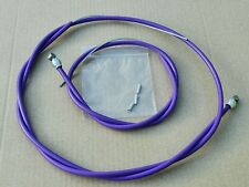 Raleigh Burner Type Purple Brake Cables Front & Rear Pair Old School BMX