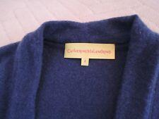 Robe bleu Catherine Malandrino Dress.475$.Laine et cachemire!Un essentiel esprit