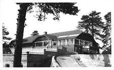 Mt Wilson California Hotel Exterior Real Photo Antique Postcard K15051