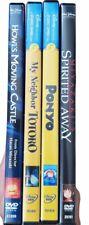 New listing Studio Ghibli Dvd Lot Totoro, Howl's Moving Castle, Ponyo, Spirited Away