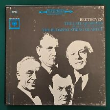BEETHOVEN Late Quartet BUDAPEST QUARTET 5LP / Columbia M5S-677 Stereo 2 EYE NM