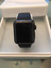 Apple Watch Series 2 38mm Space Black Stainless Steel Case Black Sport Band IOS