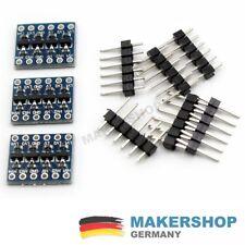 3x i2c 5v-3.3v 4 canal level shifter convertidor pegelwandler Arduino Raspberry