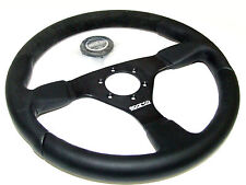 Sparco Steering Wheel - L505 (350mm/33mm Dish/Alcantara+Leather)