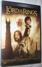 The Lord of the Rings: The Two Towers DVD, 2003, 2-Disc Set  FREE SHIP U.S.A.