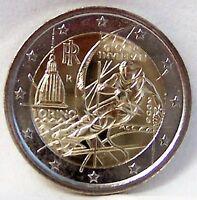 ITALY TORINO OLYMPICS 2 EURO BIMETALLIC 2006 COIN uncirculated