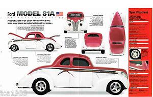 1938 Ford MODEL 81A Custom IMP Brochure, 81 A