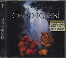 DEEP FOREST - Boheme - PETER GABRIEL CD 1995 NEAR MINT CONDITION