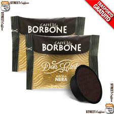 200 Capsule Caffè Borbone Don Carlo Miscela Nera compatibili a Modo Mio gratis