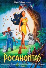 Walt Disney's Pocahontas movie poster (b)  : 11 x 17 inches