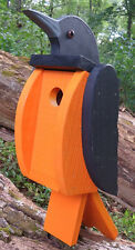 BALTIMORE ORIOLE BIRDHOUSE Solid Wood Baseball BEAUTIFUL AMISH HANDMADE QUALITY