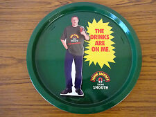 Vintage Metal Beer Advertising Tray: John Smith's Extra Smooth