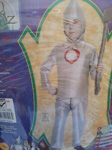 Children's Costume The Wizard Of Oz Tin Man Size 8-10 Years