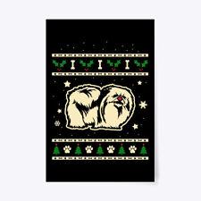 "Christmas Pekingese Gift Poster - 24""x36"""