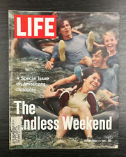 LIFE Magazine: Special Issue on Americans Outdoors, September 3rd 1971