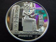XRare 1976 Isis AMERICA'S BROADWAY HERITAGE Fine Silver Mardi Gras Doubloon