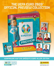 Panini EURO EM 2020 Preview Sonderkollektion Kompletter Satz + Album! In Stock!!
