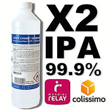 ⭐ 2 LITRES | IPA 99.9% PURE | ALCOOL ISOPROPYLIQUE / ISOPROPANOL | 2L / 2000ML