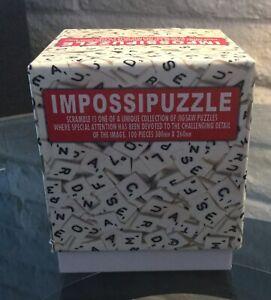 """*Impossipuzzle """"Scramble"""" - 100 Pieces - Letter Tiles - SEALED"""
