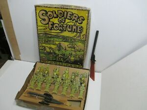 Marx Soldiers of Fortune Set in Original Box Near Mint Condition
