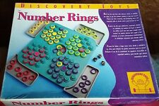 Discovery Toys Number Rings Game - Makes Learning Math Skills Fun -100% Complete