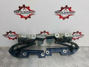 2011 VAUXHALL ASTRA J MK6 PAIR OF FRONT LEFT & RIGHT BONNET HINGES IN BLUE X2
