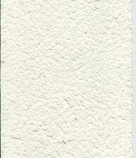 3 x Papier mulberry EPAIS  (papier mûrier)  CREME