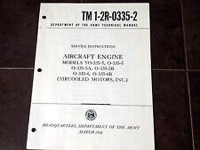 Franklin YO-335-5, O-335-5, O-335-5A, O-335-5B, O-335-6, O-335-6B Service Manual
