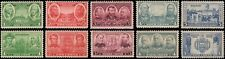 US #785-794 MNH set of 1936 Army/Navy issue
