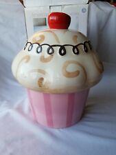 American Atelier at Home Cupcake Cookie Jar Ceramic