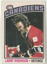 1976-1977 OPC - Hockey, Montreal Canadiens - Larry Robinson #151