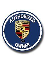 Autoschilder für Porsche Fans