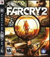 Far Cry 2 (Sony PlayStation 3, PS3, 2008) *COMPLETE*