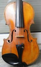 Fine old 4/4 violin labelled Giuseppe Lazzaro 1955 Fiddle Geige