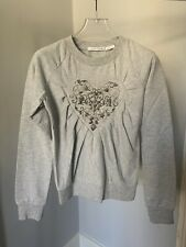Viktor & Rolf X H&M Heart Embroidered Sweatshirt, Size XS