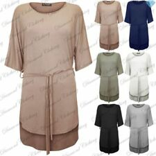 Viscose Short Sleeve Dresses for Women with Belt