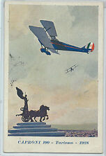 CARTOLINA 1937 CAPRONI 100 TURISMO 1928 381/A