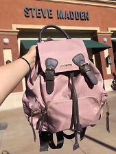 Steve Madden Strawberry Pink Stylish Large Size Backpack for Women