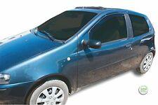 FIAT PUNTO 3 PORTE 1999 - 2005 Set di Deflettori vento anteriore 2pc HEKO colorata