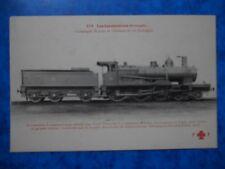 PORTUGAL : Locomotive Compound construite par la S.A.C.M  ( Grafenstaden 1906 ).